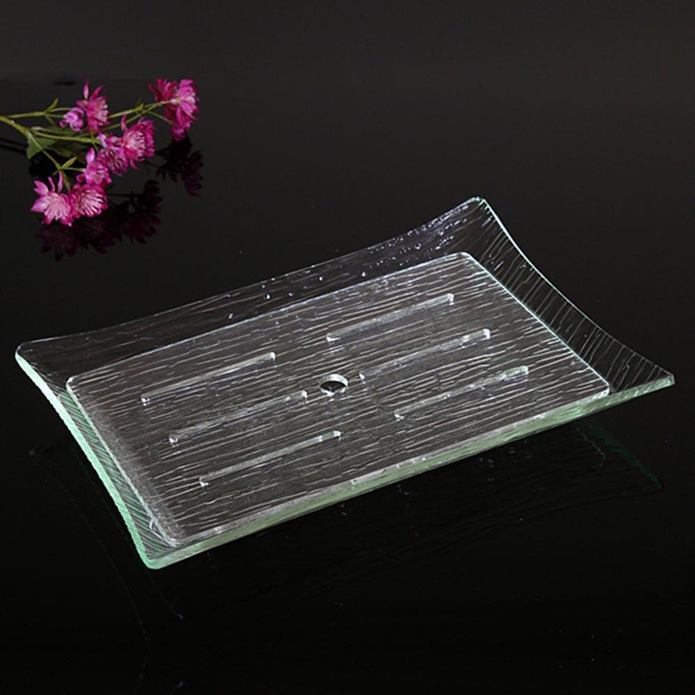 Kare Sashimi Çanak Taklit Cam dört Açı Tabağı Suşi Sanat Kare Plaka çerçeve Plaka Tepsisi Mutfak Eşyaları