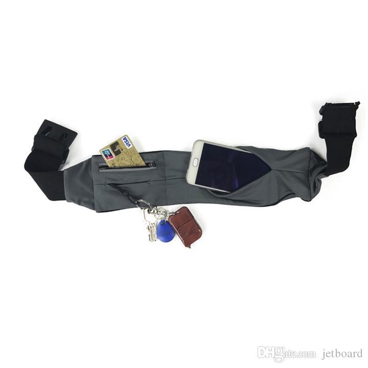 Impermeabile Marsupio da corsa Sport da trekking Moto Marsupio cintura yoga con porta carte di credito per ragazze
