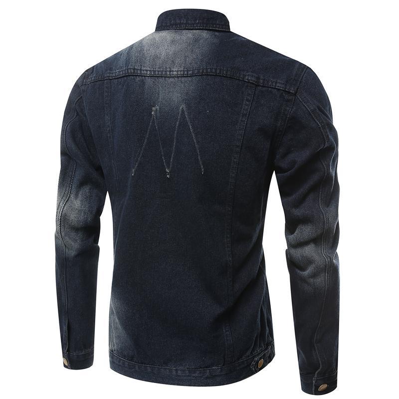2021 Han Denim Edition Gooke Новые Мужчины Мужчины Иностранные Плюс Размер Куртки Торговля Жан Oruag
