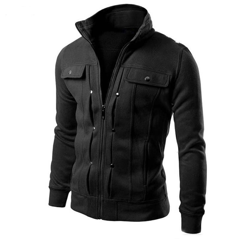 Новая мода бренд куртка мужская одежда тенденция Slim Fit высокого качества мужской молнии свободного покроя мужские куртки и пальто м-4xl оптовая
