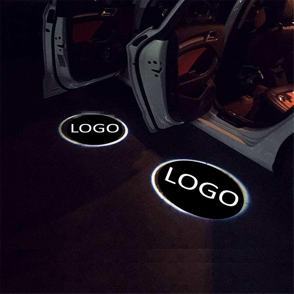 2 جهاز كمبيوتر شخصى الحال بالنسبة لشركة فولكس فاجن لشفروليه الصمام شعار الباب ترحيب ضوء المجاملة بقيادة سيارة ليزر ضوئي شعار شبح ظل الضوء