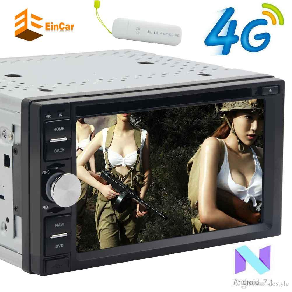 أندرويد 7.1 أوكتا كور سيارة دي في دي راديو ستيريو في اندفاعة 6.2 بوصة تعمل باللمس HeadUnit 2Din راديو السيارات GPS الملاحة واي فاي استقبال الصوت 1080P