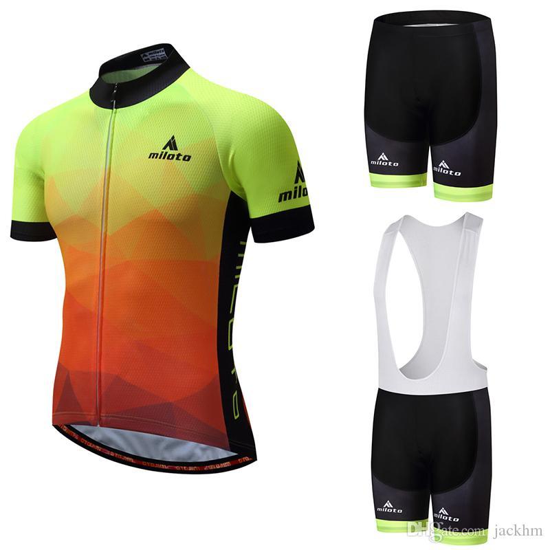 Hot sale 2018 Cycling Jersey set sport MTB Bike Clothes Summer Bicycle Clothing Cycling Jerseys Bib Shorts Maillot Conjunto Ropa Ciclismo