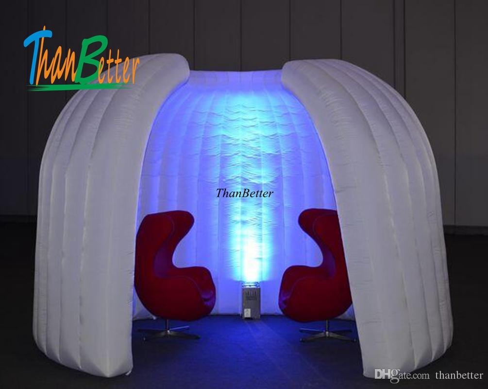 reputable site 75540 ec2b5 2019 Portable Quick Pop Up Space Inflatable Pods /Tent Inflatable Enclosure  Meeting Room Inflatable Exhibition Room For Space Divided From Thanbetter,  ...
