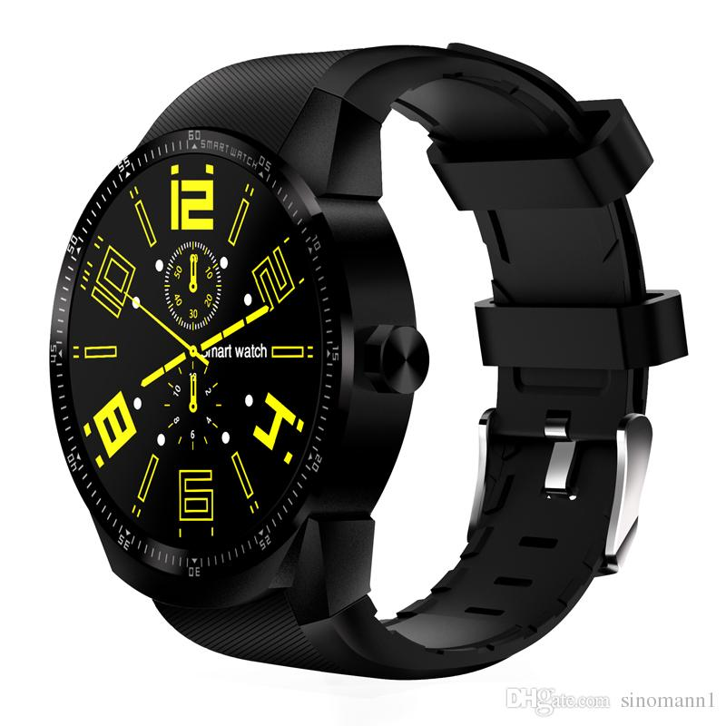 K98H 3G Smart Watch Android 4.4 OS MTK6572A RAM 512MB ROM 4G Support nano SIM Card GPS WIFI Heart Rate Smart wristwatch
