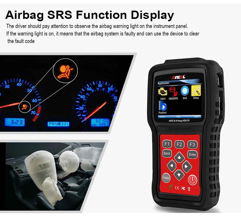 OBD2 OBD Automotive Scanner Diagnostic Tool Ancel AD610_04