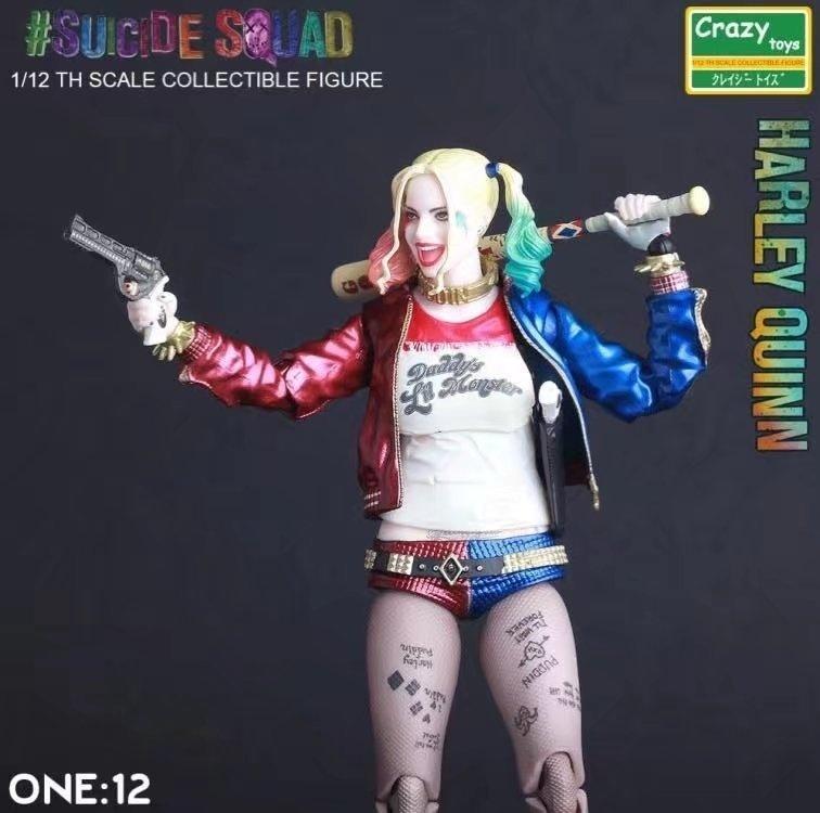 Suicide Squad Joker ou Harleen Quinzel 6 pouces Animation Figure
