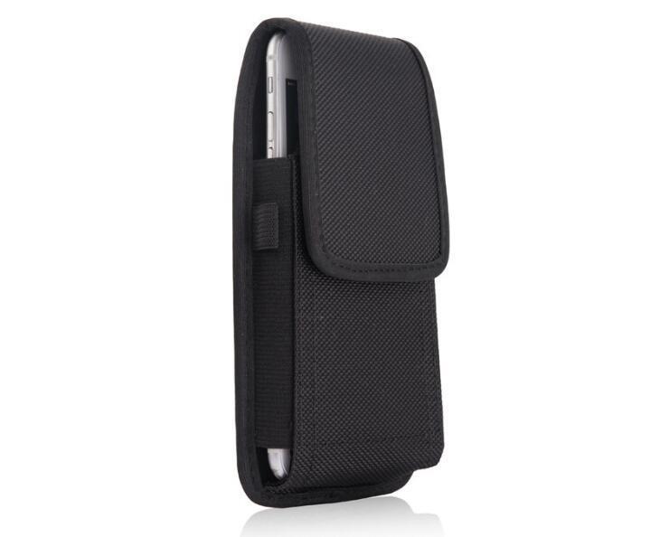 Für iphone x 7 8 plus universal sport nylon leder holster gürtelclip telefon case abdeckung tasche für samsung huawei s9 plus 2019 neu