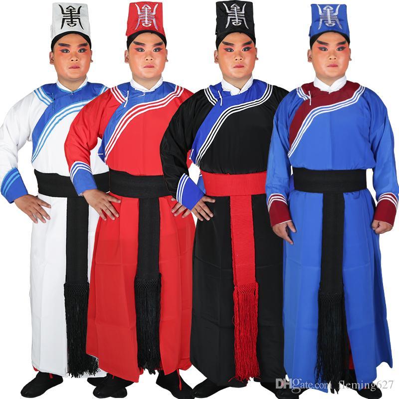 Ópera de Beijing de alta qualidade ópera yamen espada Man clothing Operas Policial traje drama filme TV Estágio guerreiro roupas tolerância Uniforme
