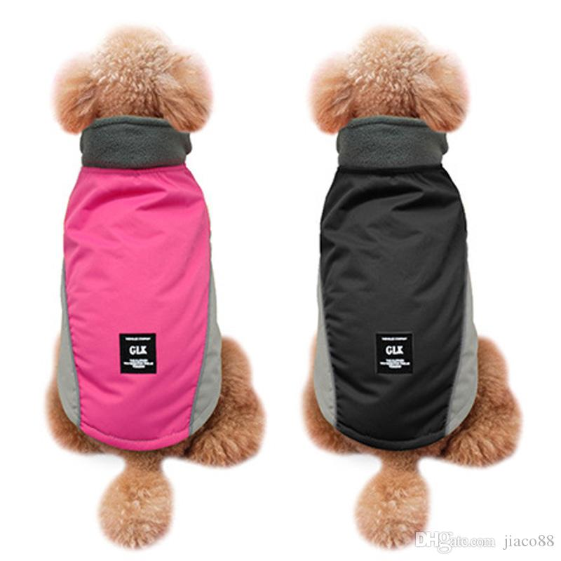 Winter Pet Clothe Dog Rainwear Universal Waterproof Apparel Dog Clothes Pet Rain Coat Puppy Apparel Shirt Clothing for Dog DHL Free In-Stock