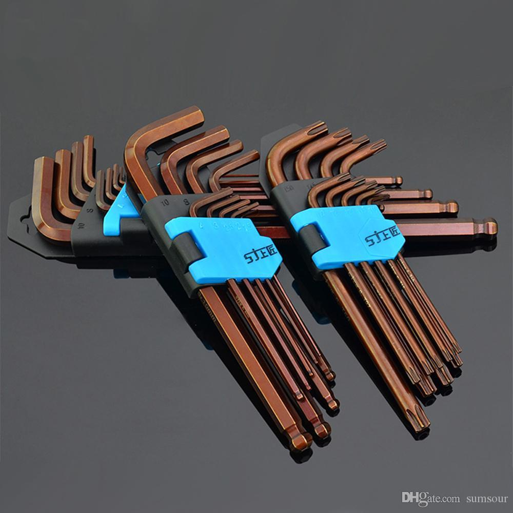 Многофункциональный шестигранный ключ Набор двойной шестигранный шестигранный шестигранный шестигранный ключ Набор инструментов для ремонта