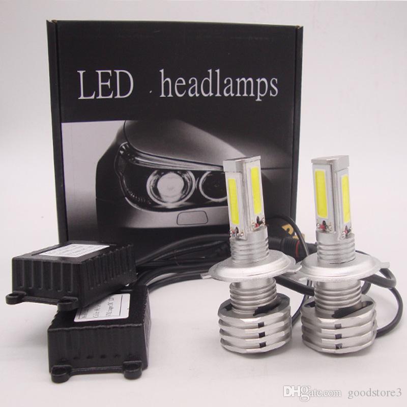 H1 H4 H7 H11 9005 9006 9007 120W 12000LM CREE LED фара Kit High / Low Beam лампы 6000K Белый High Power