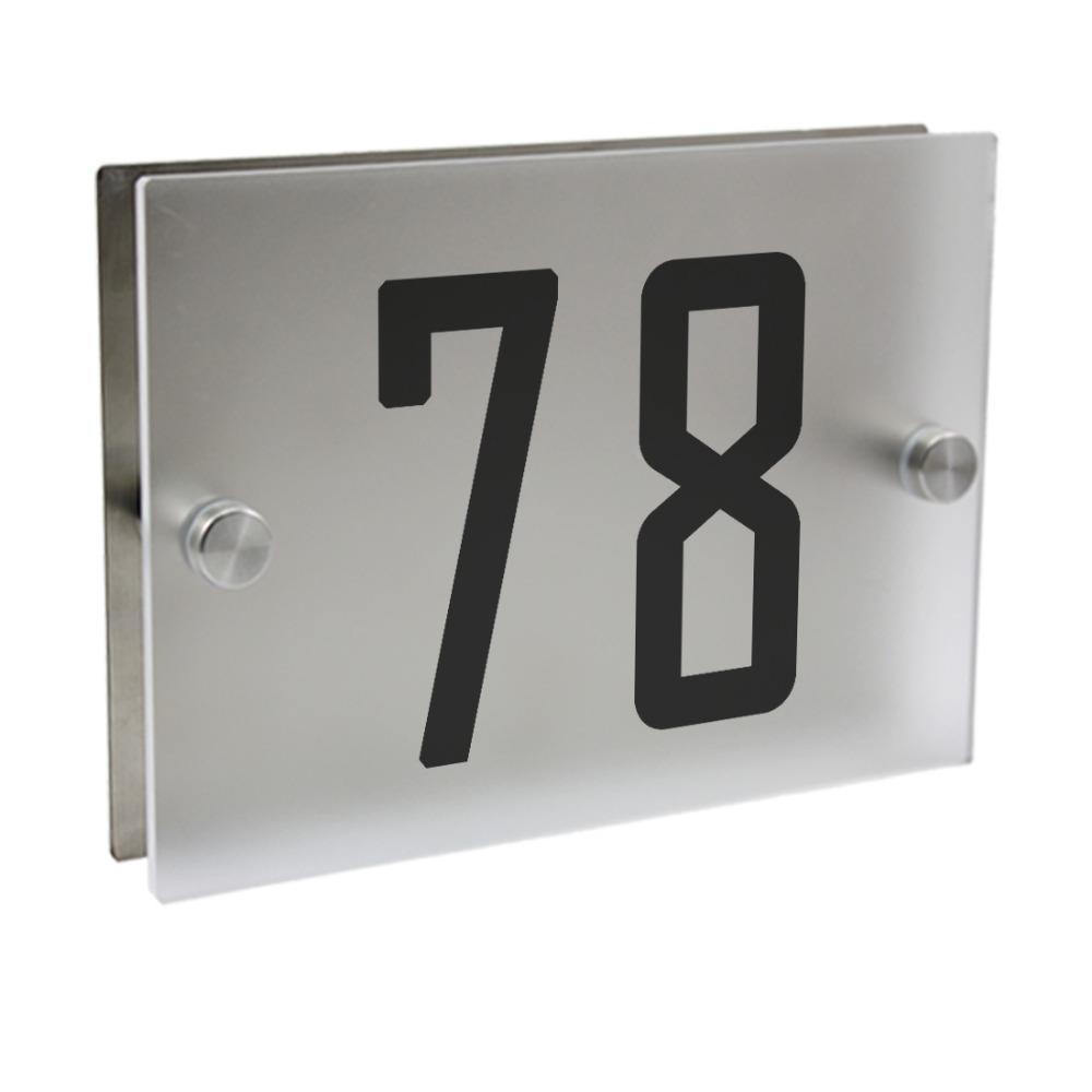 Numéro de porte antique Plaque de pièce Adresse Bureau Maison Numéro de