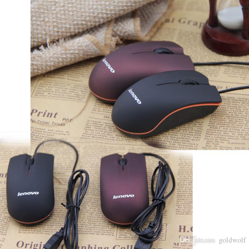 Pronti stock Lenovo M20 Mini Tiny Wired Mouse per mouse da gioco USB ottico 3D per mouse per computer portatile