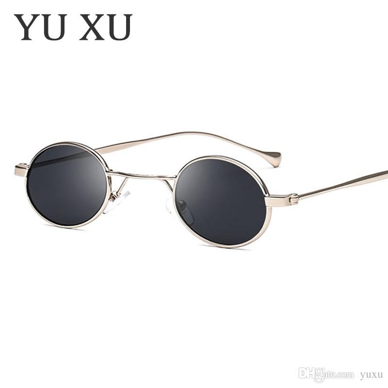 Shades Frame Designer Round Brand Glasses Frame Metal Sun Women H65 Sunglasses Vintage Round Glasses New Small Tggww