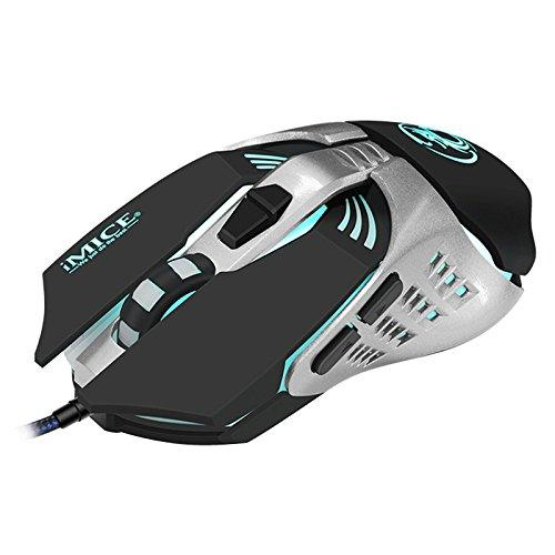 V5 USB проводной программирования машин 4000dip 7 ключ красочные дыхание свет игровой мыши
