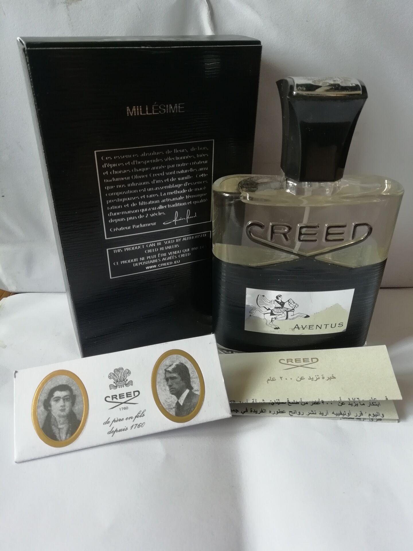 Berühmte Creed Aventus Weihrauch Parfüm für Männer Köln 120ml mit lang anhaltendem guten Geruch gute Qualität Duft Kapazität frei einkaufen