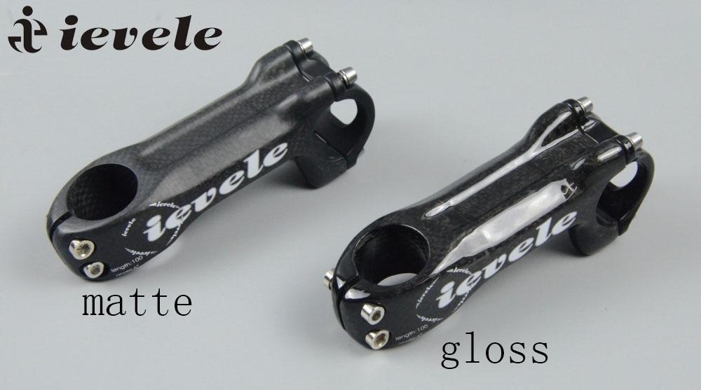 -Black-50//60//70//80mm MTB RXL SL 25.4 Stem Carbon Carbon Fiber Stem 6/° for Road Bike Cycling Bicycle