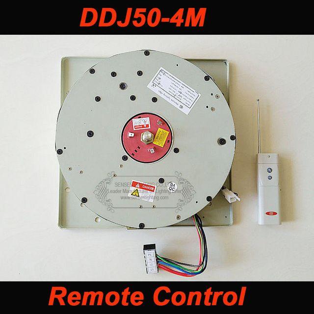 DDJ50 50 KG 4 Mt Kabel Auto Ferngesteuerte Hoist Kronleuchter Hoist beleuchtung lifter Elektrische Winde Licht Hebe System Lampe Motor