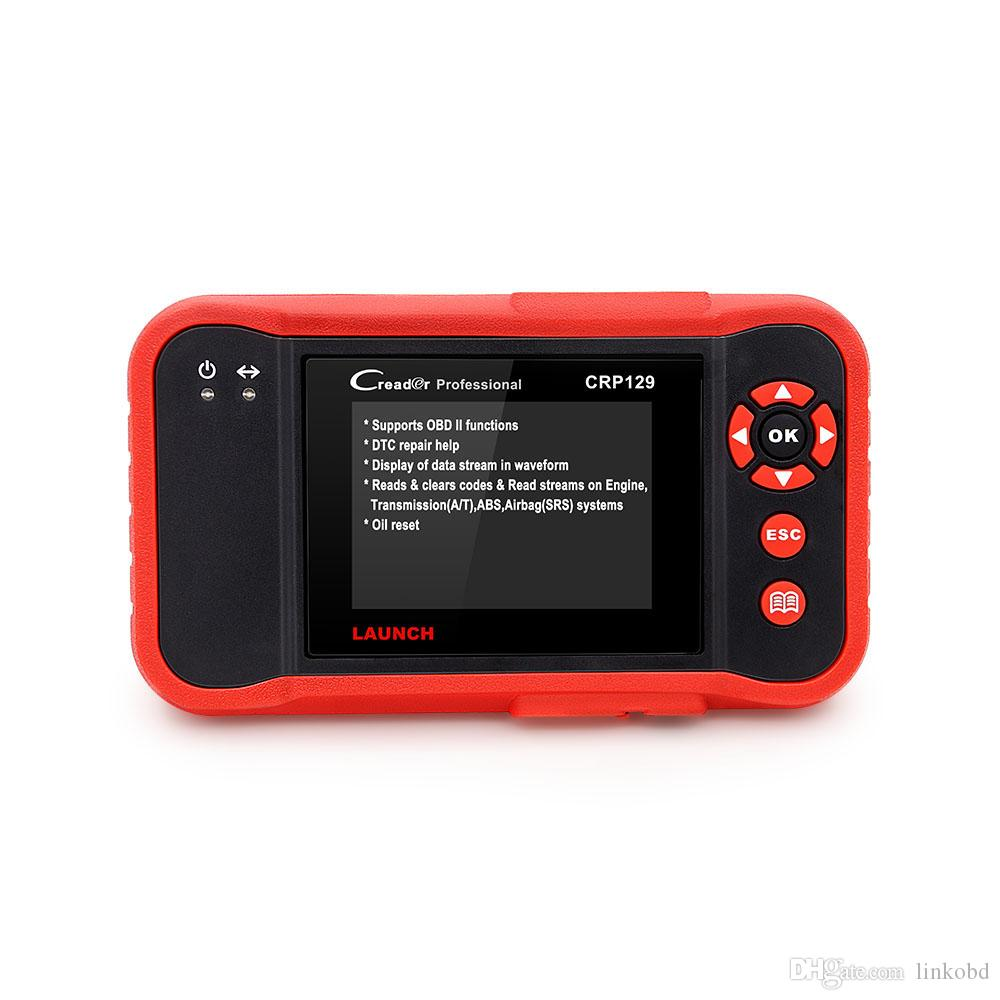 Launch X431 Creader CRP129 OBDII Code Scanner Diagnostic Full Function ENG/AT/ABS/SRS EPB SAS Oil Service Light Resets Tool