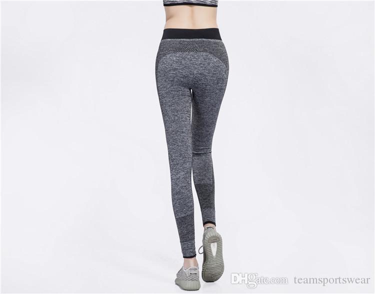 Women Fashion Tight Sportwear Nice Leggings High Elastic Thin Sports Yoga Pants Fitness Running Long Trousers Legging