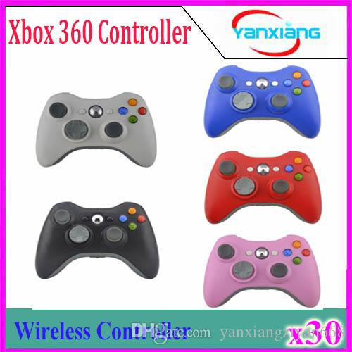 30pcs Xbox Wireless Controller Arrival Game Pad Joypad Controller for Microsoft Xbox 360 Wireless Gamepad Game YX-360-01 YX-360-01
