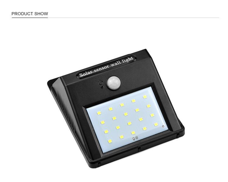 20 LED Solar light