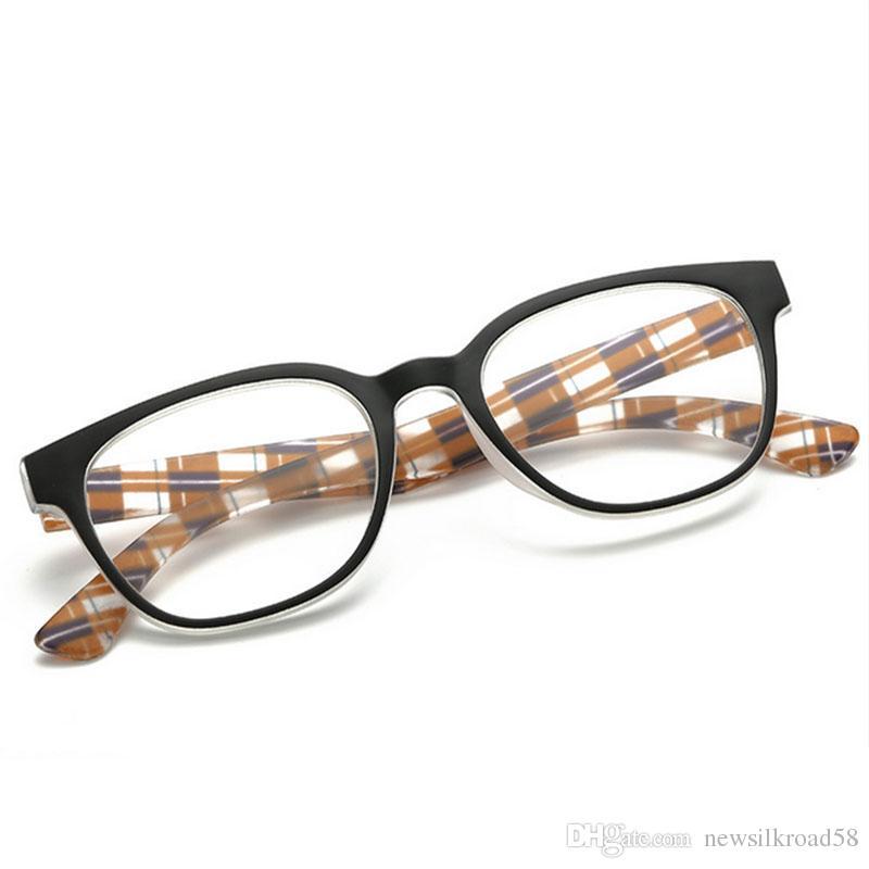 Fashion Unisex Resin Presbyopia Glasses No Screw Detachable Magnifying Reading Glasses Magnetic Eyeglasses Old people Hyperopia Eyewear Read