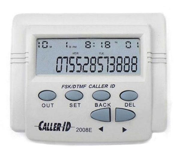 Mobile Phone Telephone Tel LCD Display DTMF FSK Caller ID Box with Call History