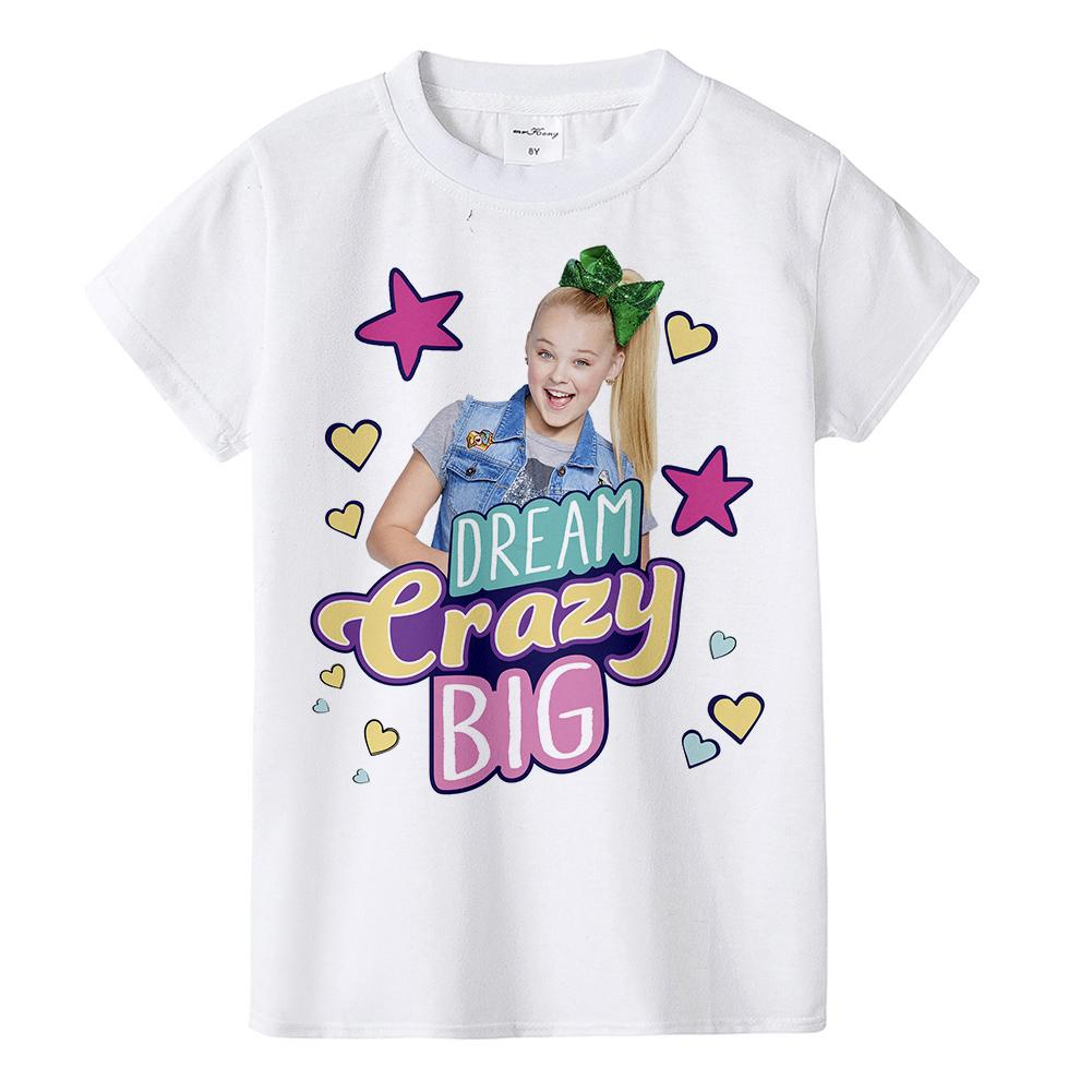 22665f0c5bbc59 1Y To 12Y Jojo Siwa Girl Summer Clothing Set Fashion Kids Clothes Suit Tops  + Tutu Skirt Dress 2 Pcs Baby Roupas Infantis Menina MMA901