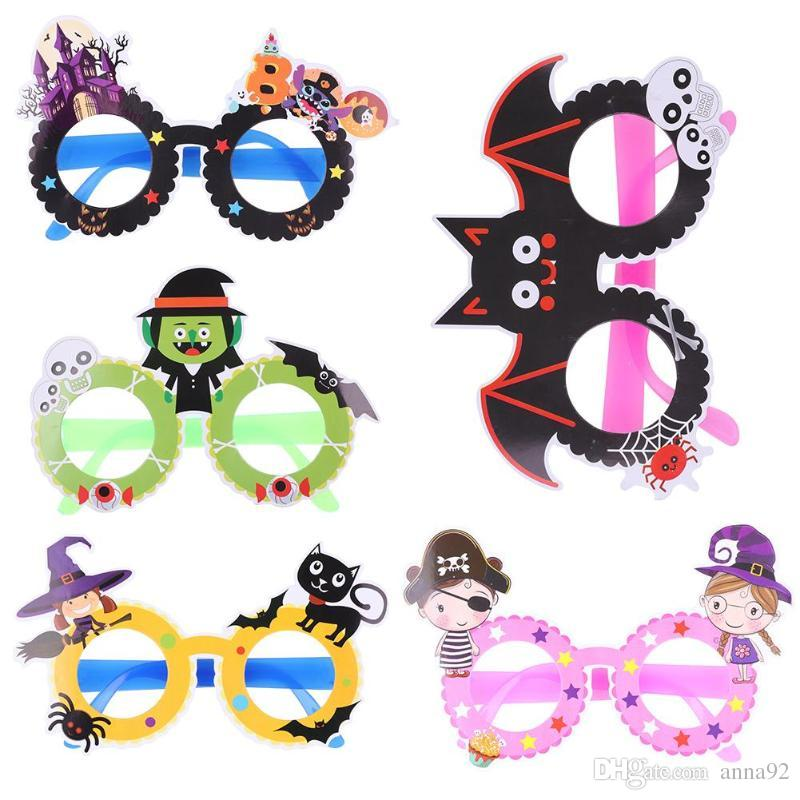 Halloween Glasses For Children Adults Photo Props Halloween Festival Party Decoration Halloween Costume free shipping hot sale 2018 hot sale