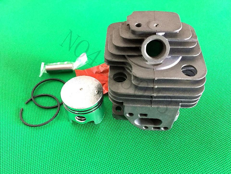 Cilindro assy 36mm para 1E36F 36F motores do motor aparador de escova cabeça de cilindro + kit de pistola
