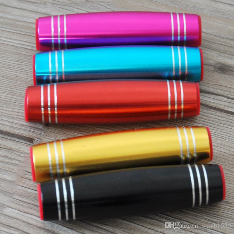 50pcs / lot Yetişkin parmak ucu oyuncaklar, çubuklar, demir aktarma kulüpleri azaltarak renk alaşım basıncı, dekompresyon etkileşimli masaüstü oyuncakları