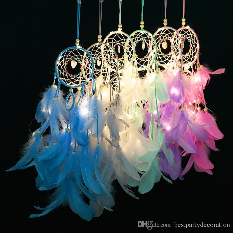 Unicorn Handmade Dream Catcher Wall or Car Hanging Ornament Gift Craft Kit Decor