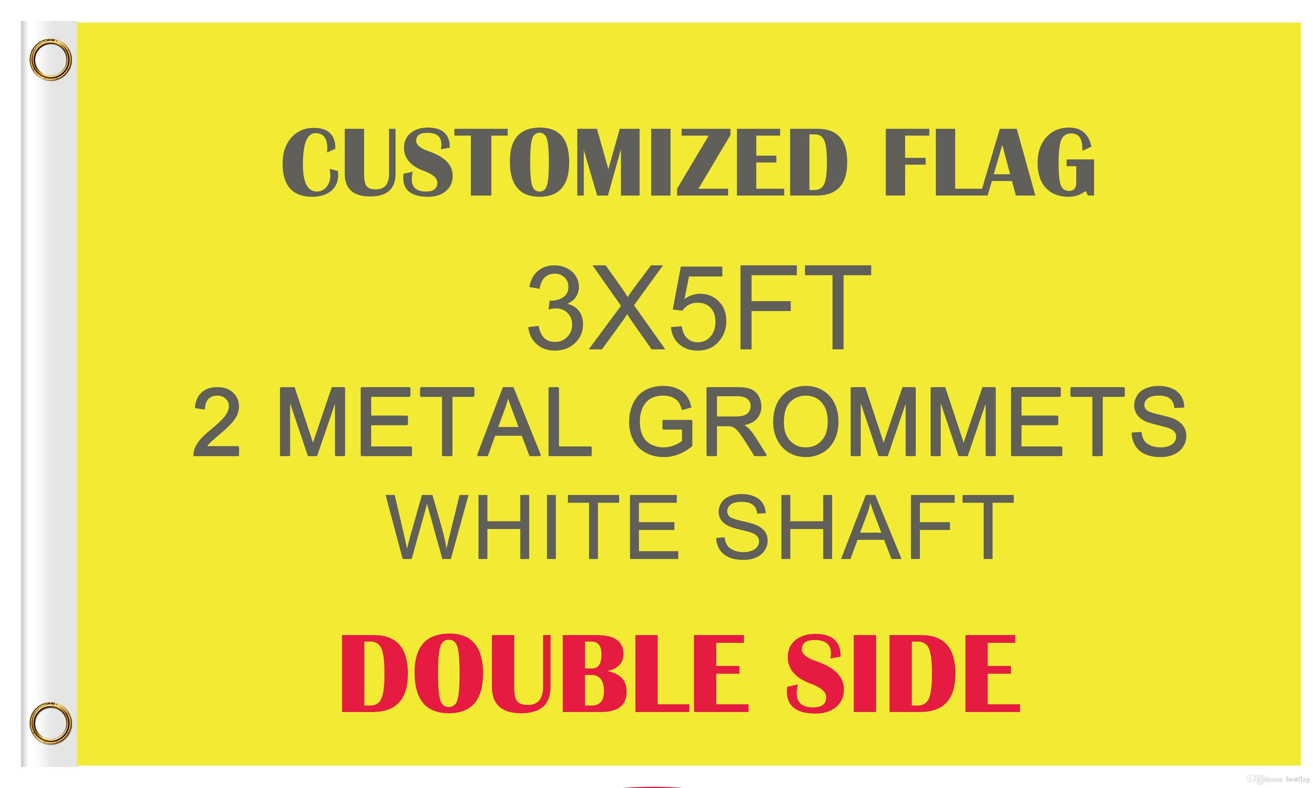 Tennessee and USA Flag 3x5 EMBROIDERED 2 double sided Flag Wholesale Lot