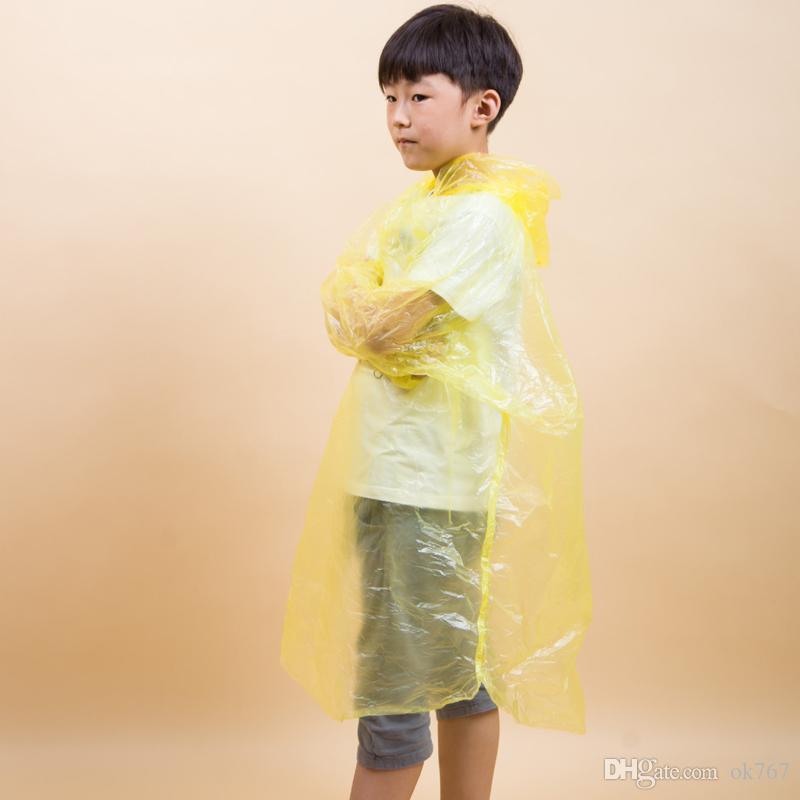 Pe Fahrrad Poncho Regenmantel Angeln Kinder One Mantel Täglich Student Großhandel Fahrt Ein Regenbekleidung Einweg Time xWrdECeBoQ