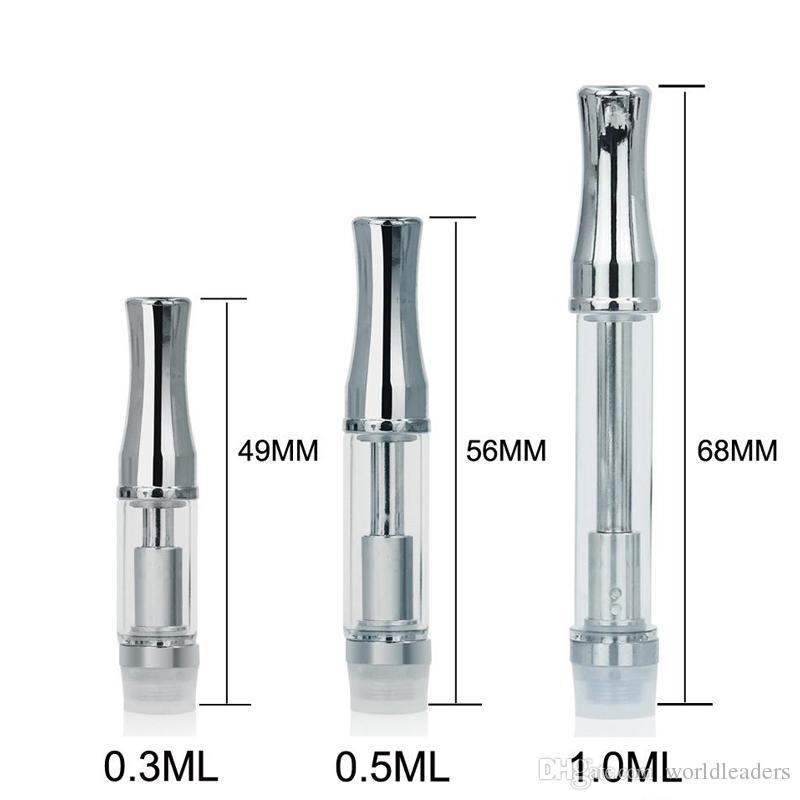 Pyrex стекло картридж стекло CE3 испаритель ручка картриджи для Толстого масла испаритель подходит бутон сенсорный аккумулятор бесплатная доставка