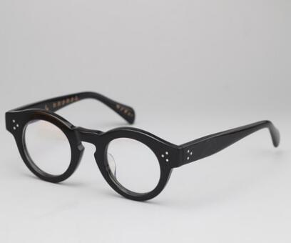 الرجعية سميكة النظارات مربعات إطارات قصر النظر اليابانية التقليدية سميكة النظارات إطارات المرأة محب نظارات إطارات