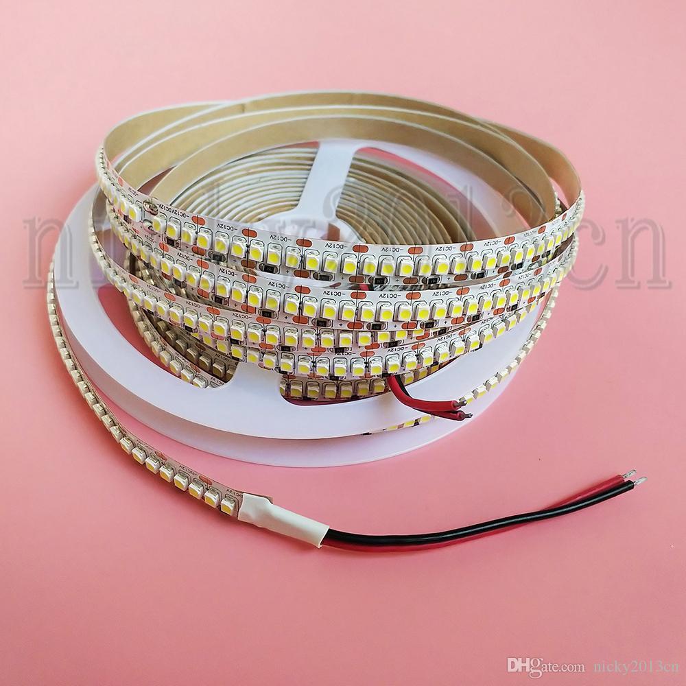 Super brightn 12V 3528 LED flexibles Streifen-Licht Band-5M 1200LEDs nicht wasserdicht einreihig 240LEDs / m 10mm Breite Dense