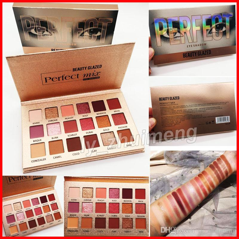 Original Beauty Glazed eyeshadow palette perfect 18 Colors makeup eyeshadow Ultra shimmer highly pigmented Eye shadow New nude Eyes Cosmetic