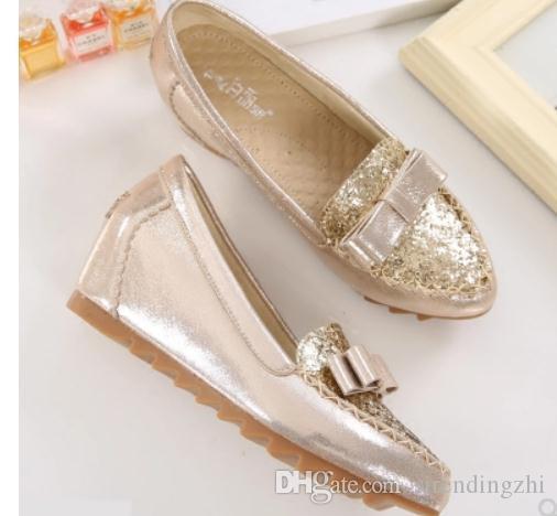 Free send 2018 new style autumn coréen de la femme talon moyen talon talon chaussures simples