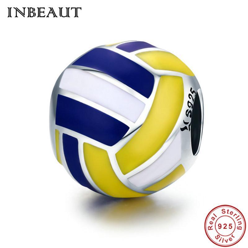 charm pandora volleyball