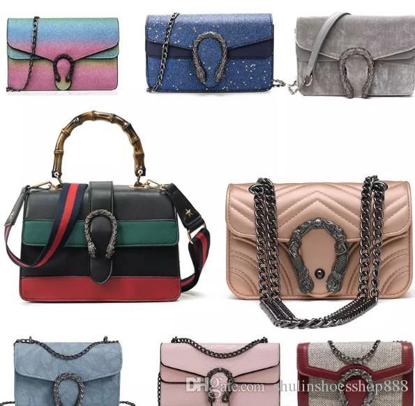 Combinado!!! 2018 Famoso Designer de Mulheres Bolsas Bolsas de Ombro Designer De Moda Crossbody Bag Direto Da Fábrica Frete Grátis
