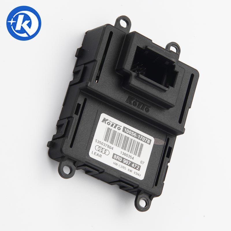 8R0 907 472 8R0907472 LED المصابيح الأمامية DRL الصابورة كويتو 10056-17078 وحدة التحكم لأودي Q5