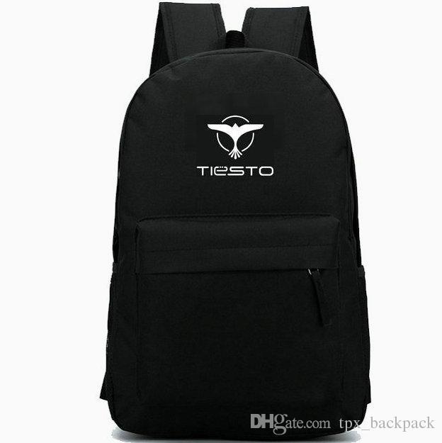 Tiesto zainetto Tijs Michiel Verwest giorno pacchetto Top sacchetto di scuola 100 DJ packsack Casual zaino Sport zainetto zaino esterno