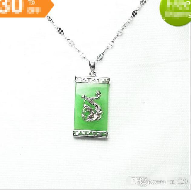 925 Silver Plated Malay Yulong Brand Necklace Pendant Pendant