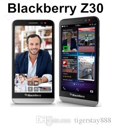 الأصلي بلاك بيري Z30 5.0 بوصة بلاك بيري OS 10.2 كوالكوم MSM8960T برو 3G الهاتف الذكي 2GB / 16GB 8MP تجديد الهاتف المحمول