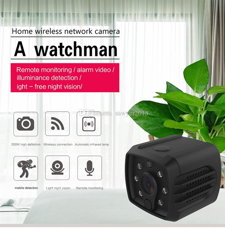 HD Wifi Mini Camera DVR H7 Wireless 1080P Infrared Night Vision sports Camera Portable baby camera home Security Video Recorder Remote View