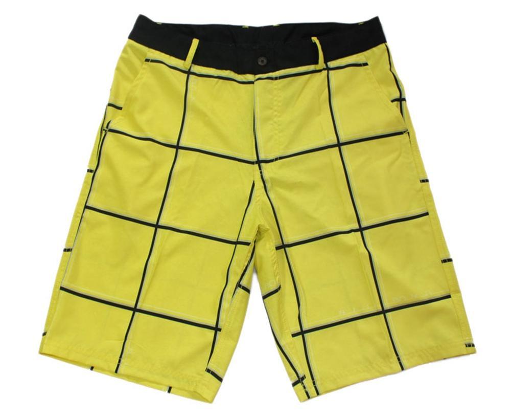 High Quality Elastic Fabric Suit Shorts Mens Leisure Pants Bermudas Shorts Board Shorts Beachshorts Quick Dry Surf Pants Swimtrunks Swimwear