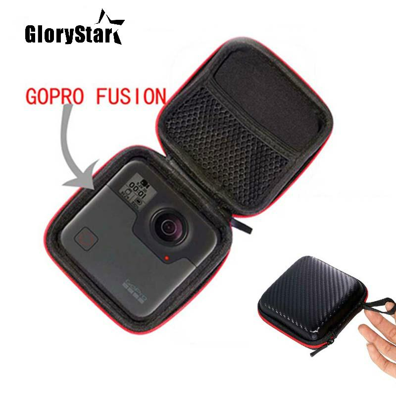 GloryStar Portable Carry Case Accessory Anti-shock Storage Bag For Gopro Fusion For Xiaomi mijia 360 Degree Panoramic Camera